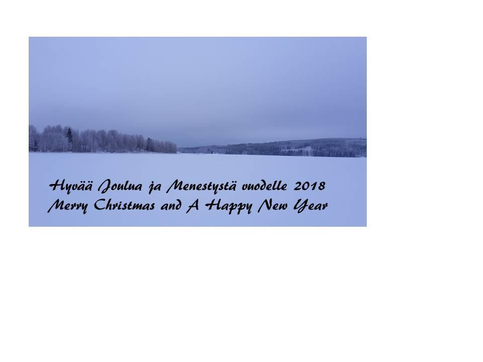 Joulutervehdys 2017 2